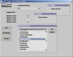 Irrlicht 3D Engine: Tutorial 5: User Interface